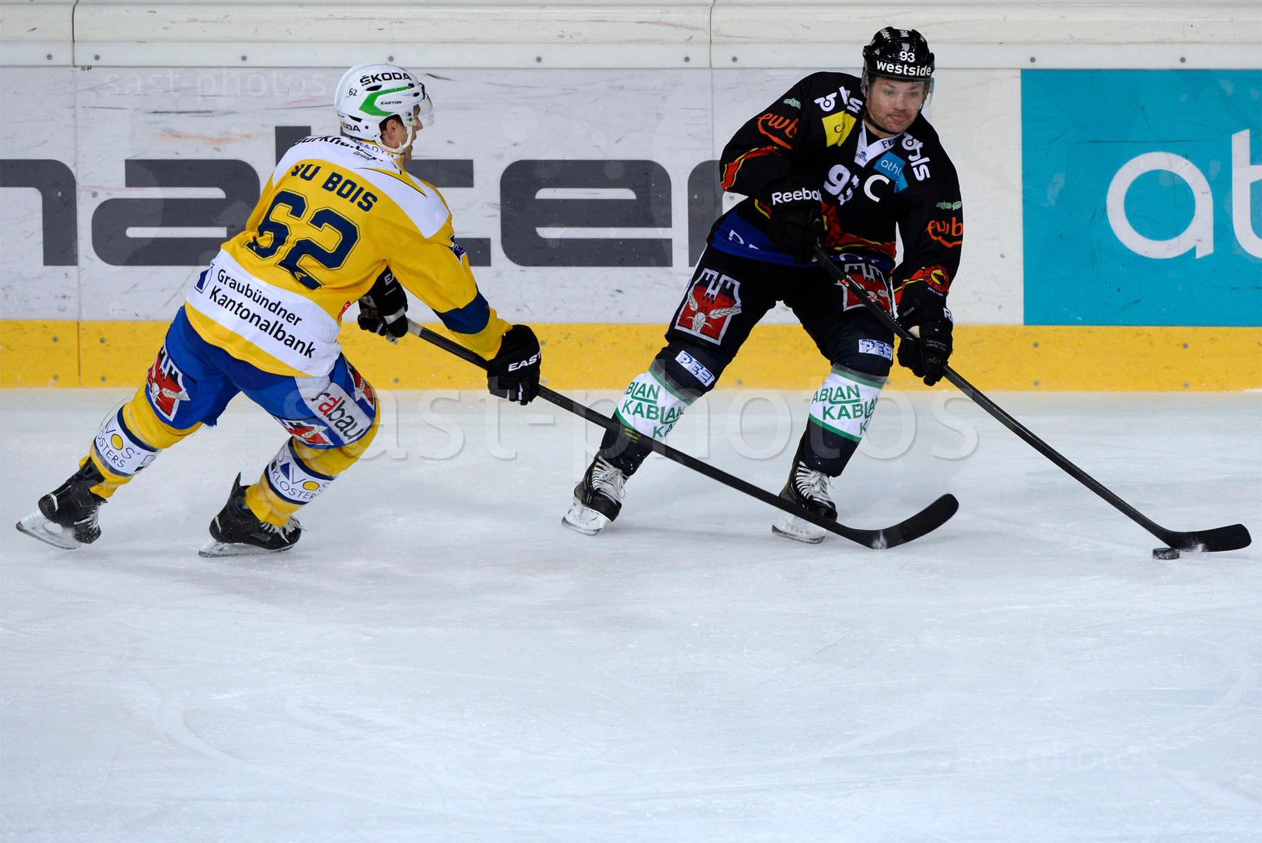 Felicien DuBois (L. Davos) gegen Byron Ritchie (Bern)