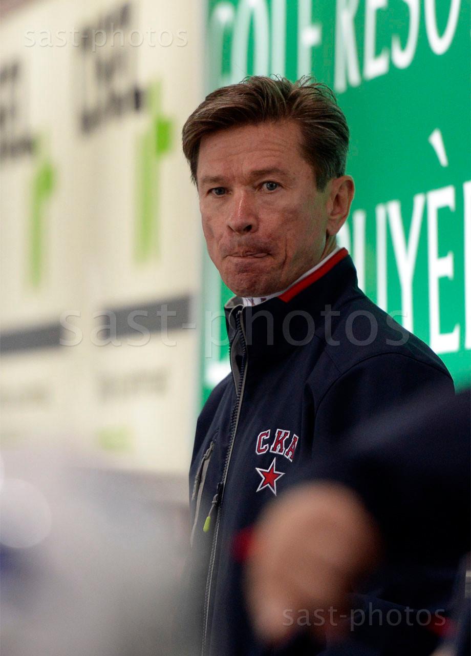 Trainer Slawa Bykov (St. Petersburg)
