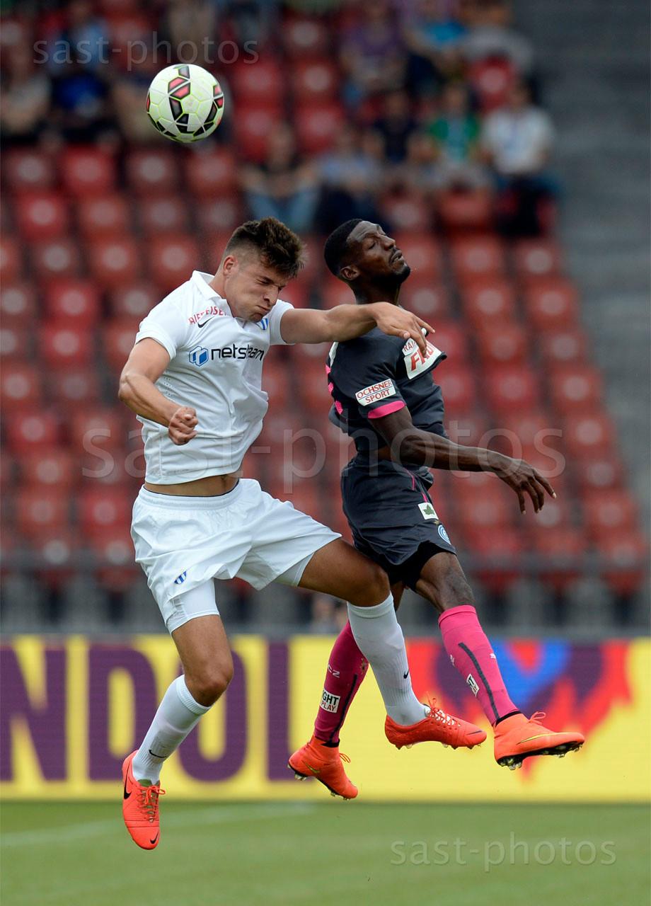 Berat Djimsiti (FCZ) gegen Anatole Ngamukol (GCZ)