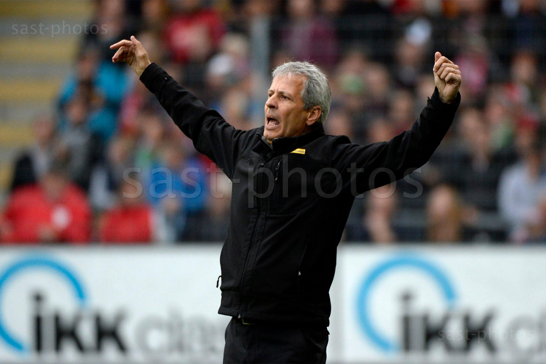 Trainer Lucien Favre (Gladbach)