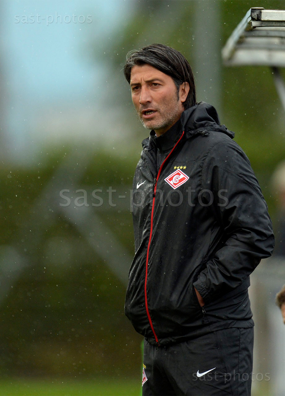 Trainer Murat Yakin (Spartak)