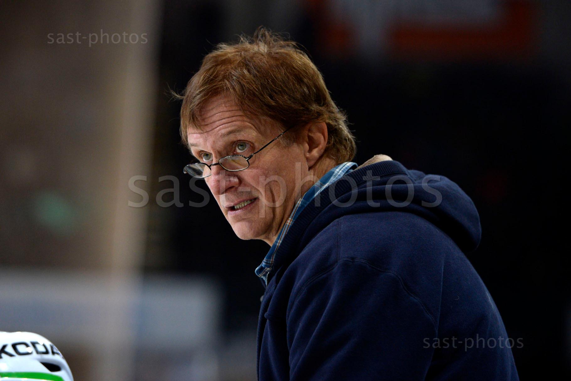 Trainer Arno Del Curto (Davos)
