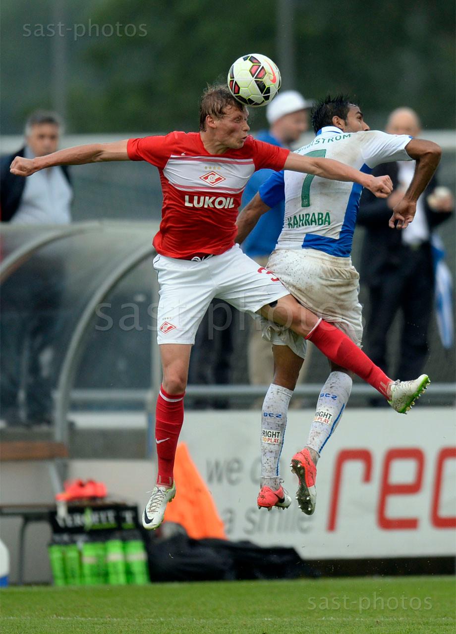 Evgeni Makeev (Spartak) gegen Mahmoud Kahraba (GCZ)