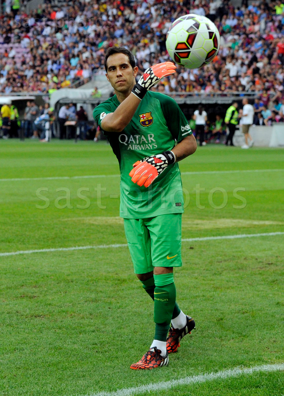 Torhueter Claudio Bravo (Barcelona)