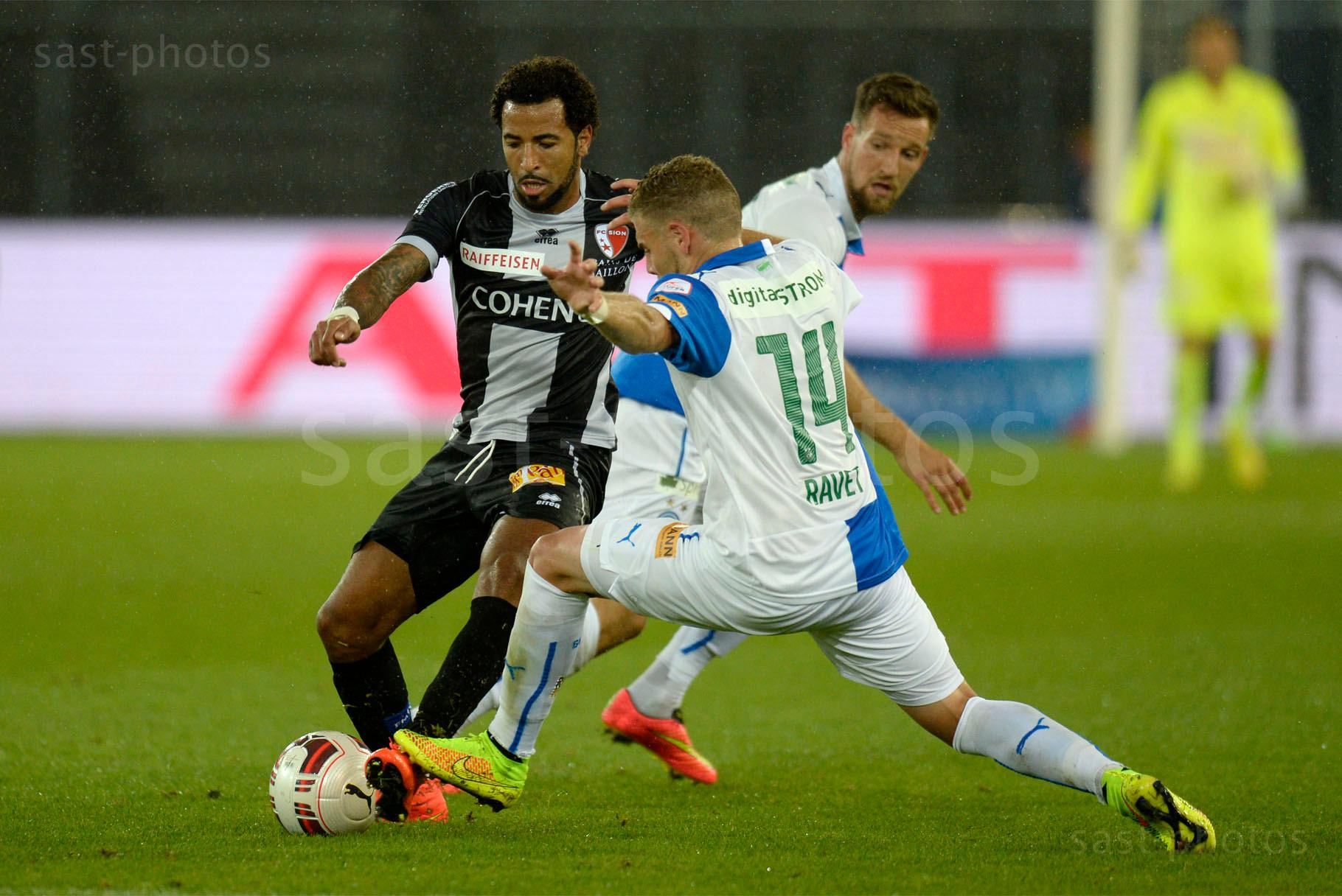 Carlitos (L. Sion) gegen Yoric Ravet (GCZ)