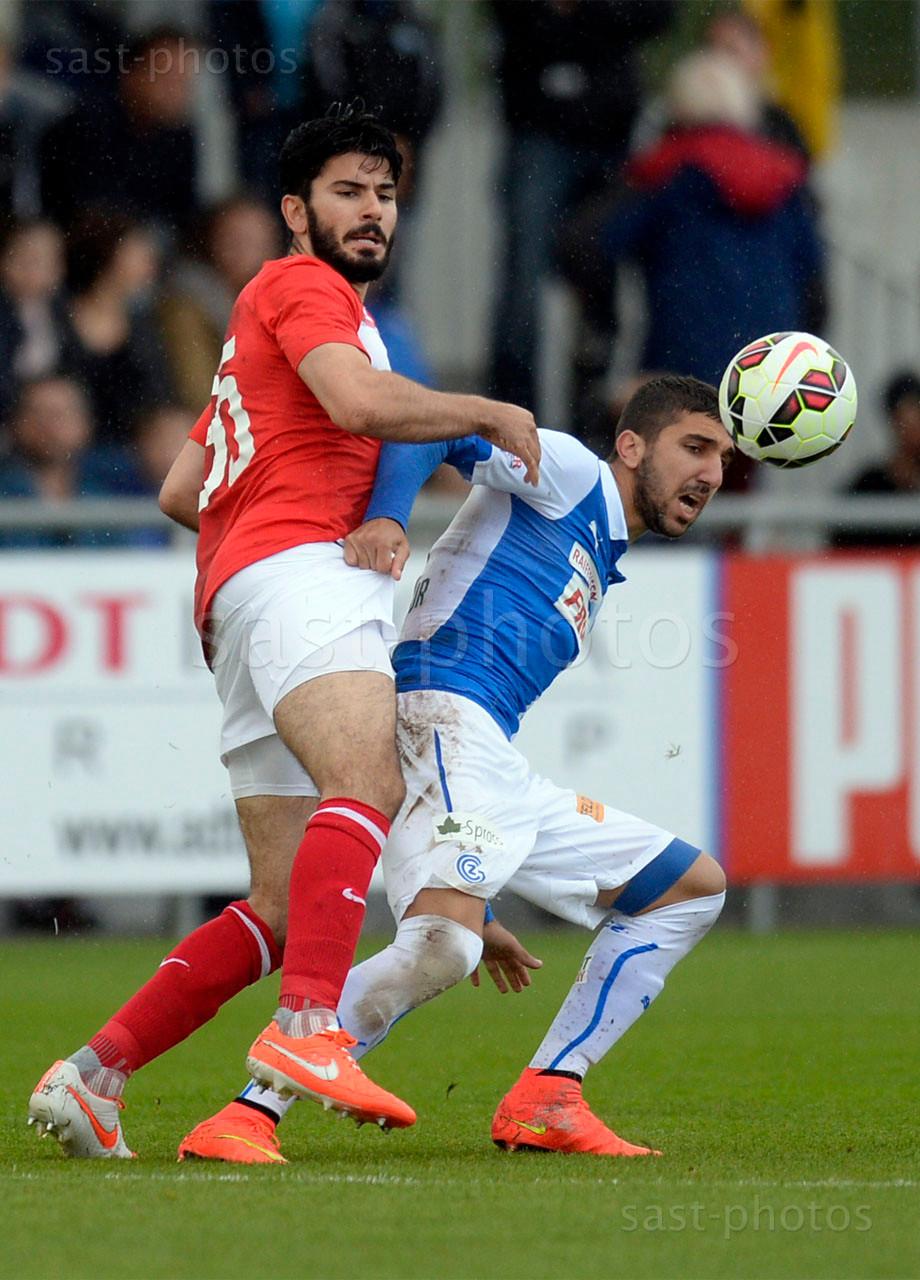 Serdar Tasci (Spartak) gegen Munas Dabbur (GCZ)
