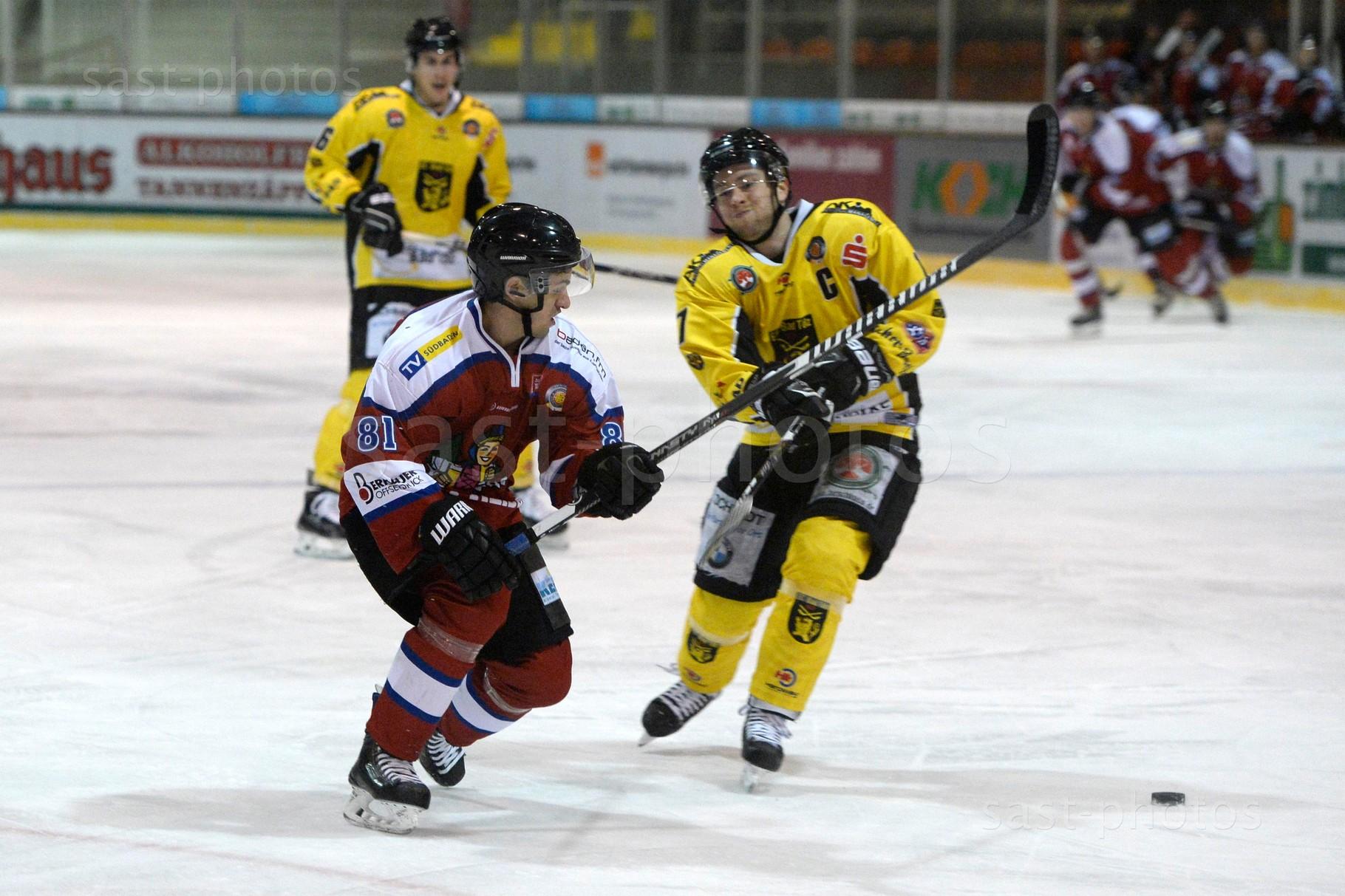 Chris Billich (L. Freiburg) gegen Christian Kolacny (Bad Toelz)