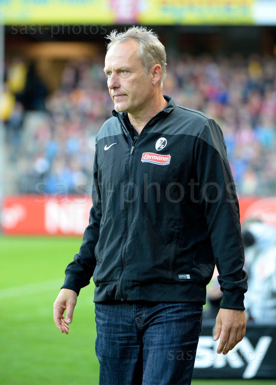 Trainer Christian Streich (Freiburg)