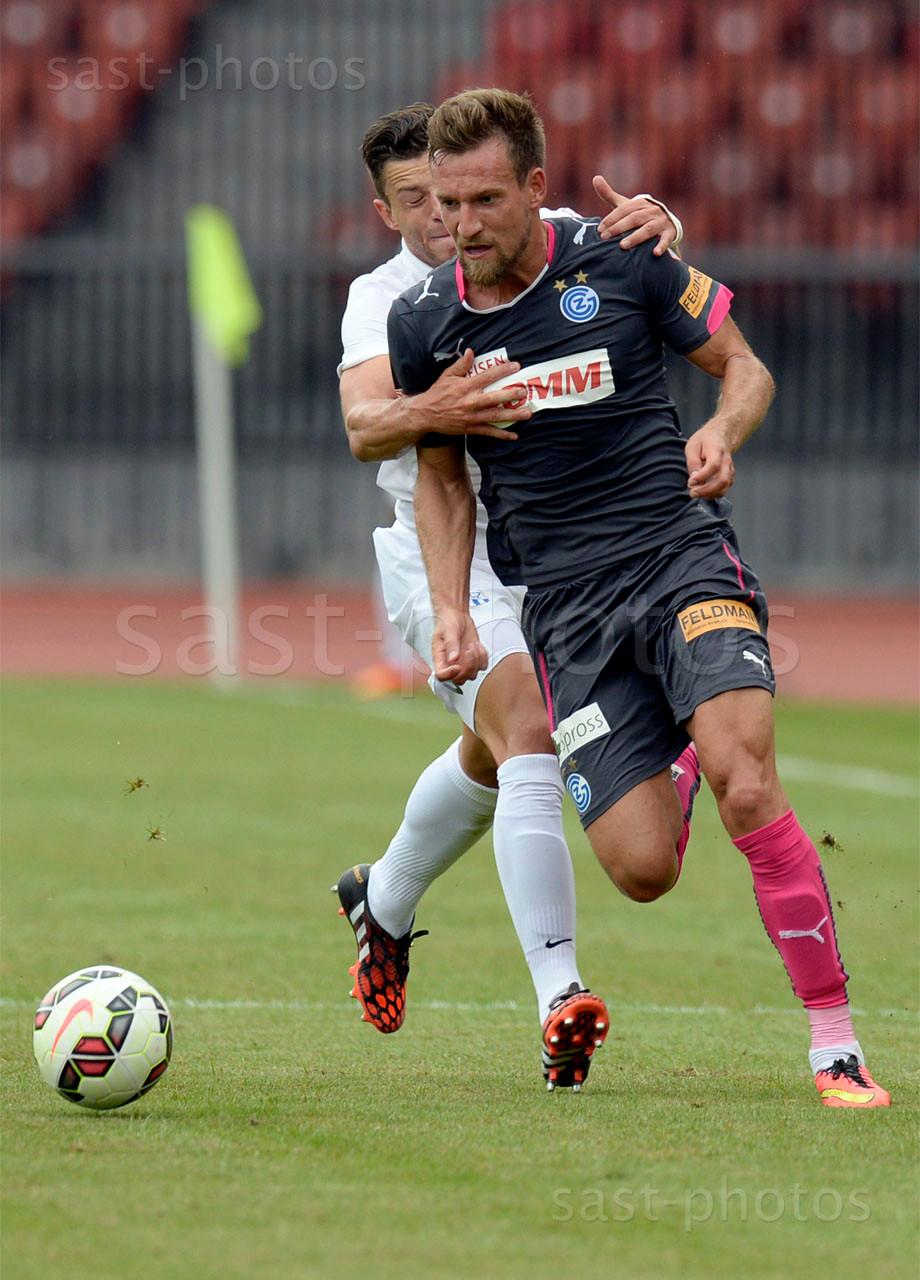 Philippe Koch (FCZ) gegen Daniel Pavlovic (GCZ)