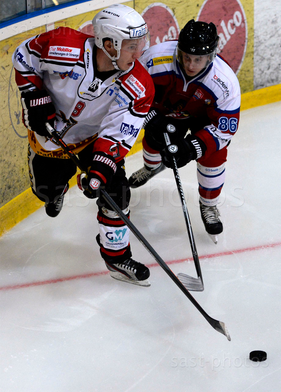Mattia Di Biase (L. Basel) gegen Alexander Brueckmann (Freiburg)