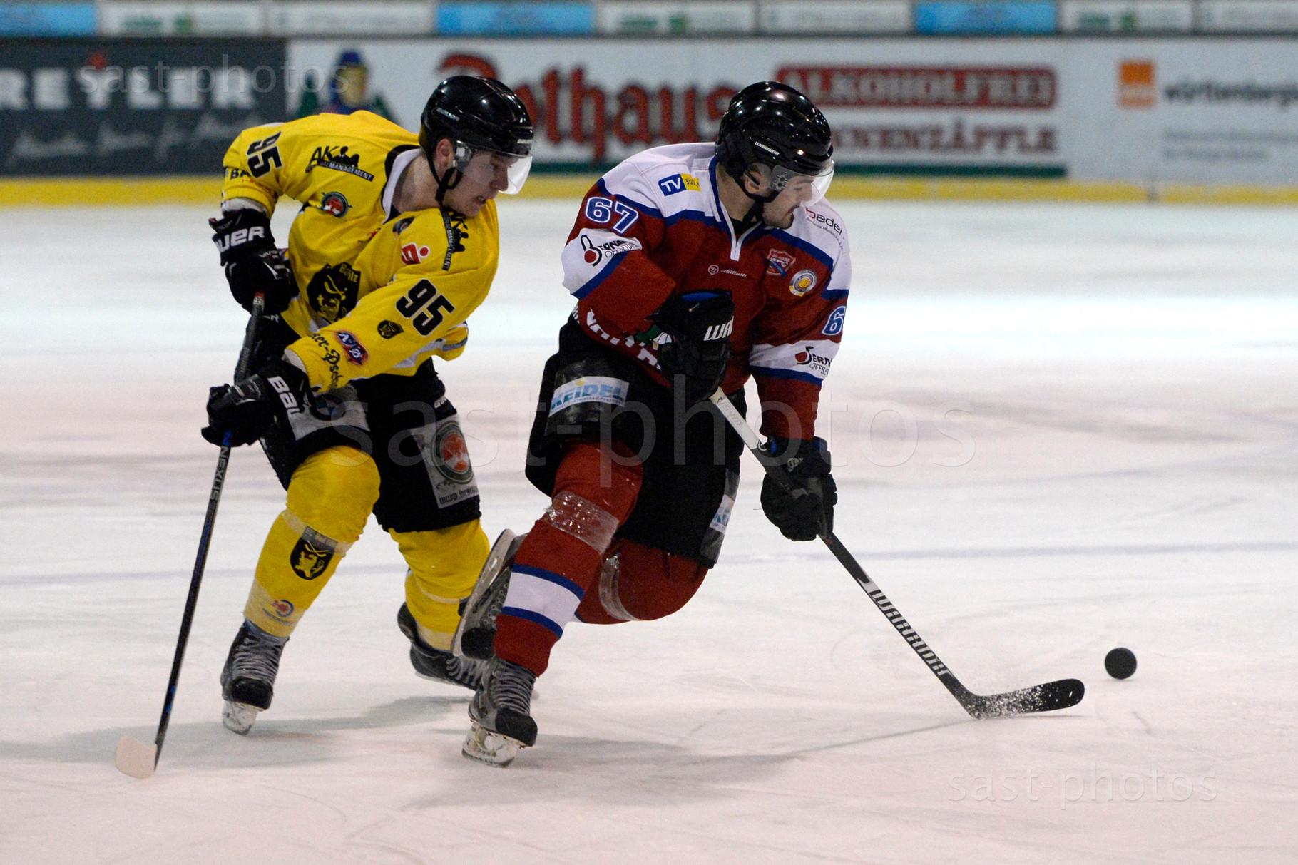 Johannes Fischer (L. Bad Toelz) gegen Julian Airich (Freiburg)