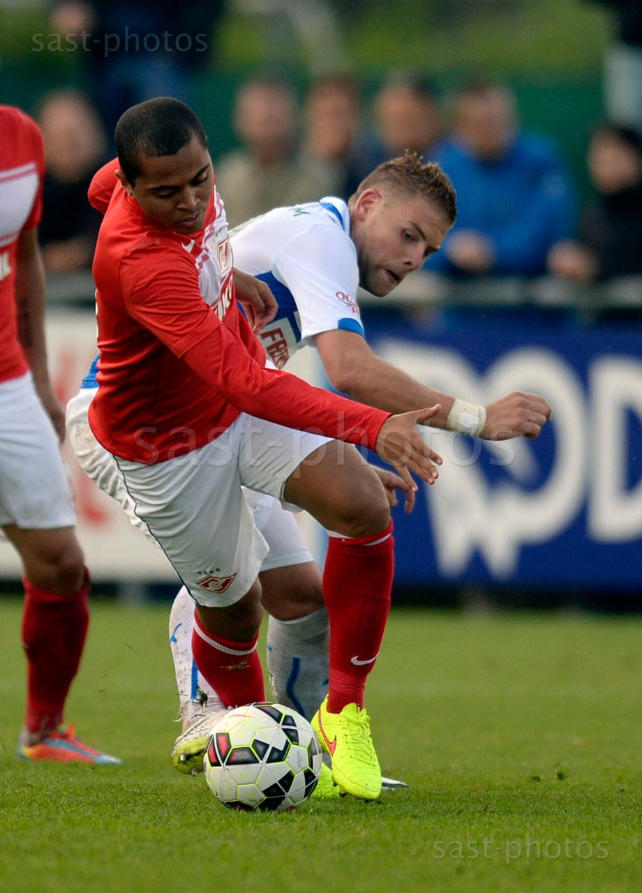 Rafael De Souza Pereira (Spartak) gegen Yoric Ravet (GCZ)