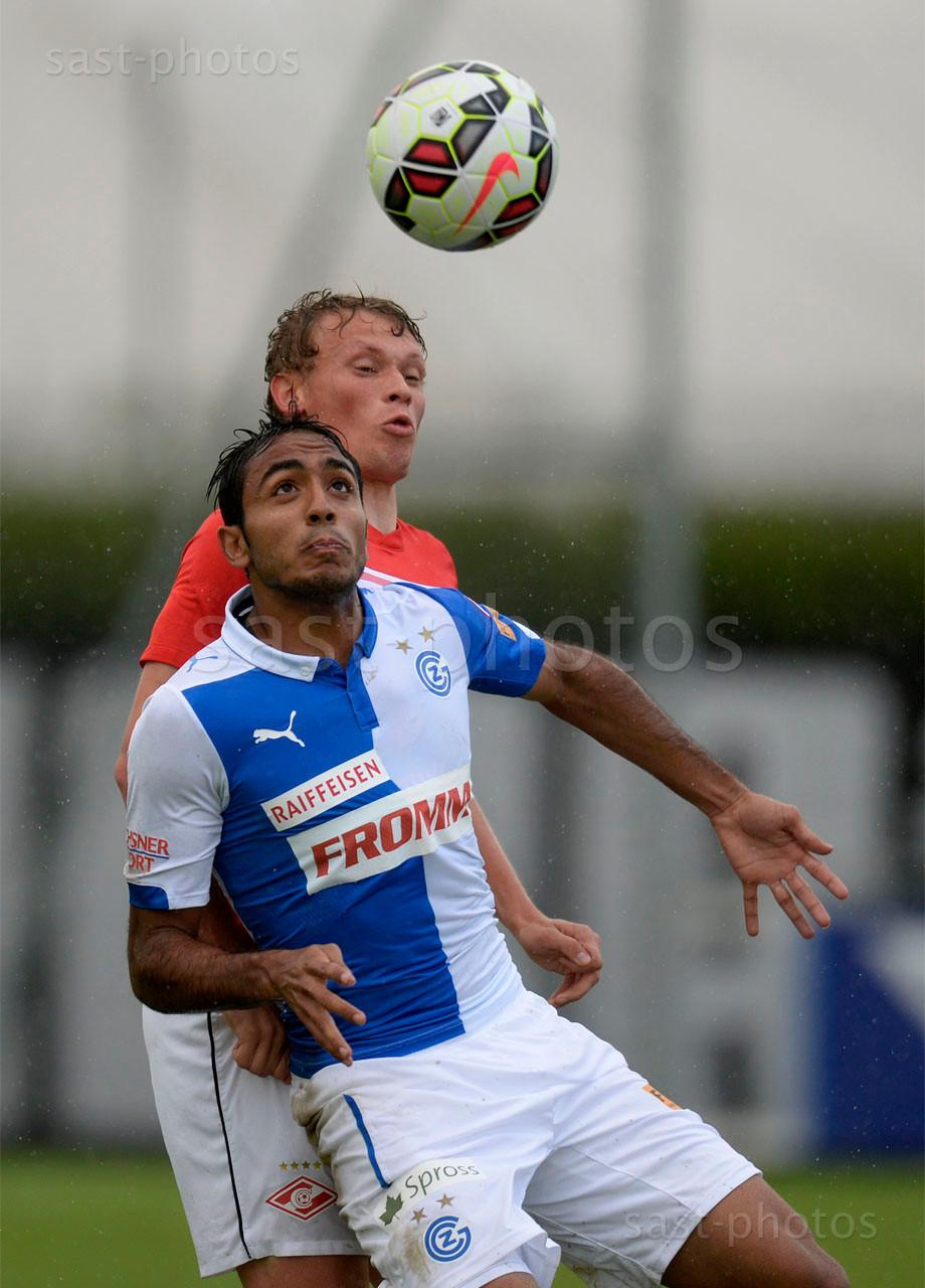 Mahmoud Kahraba (GCZ) gegen Evgeni Makeev (Spartak)