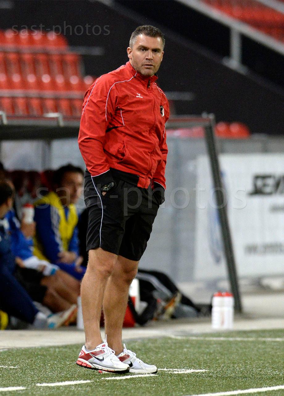 Trainer Roberto Cattilaz (Xamax FCS)