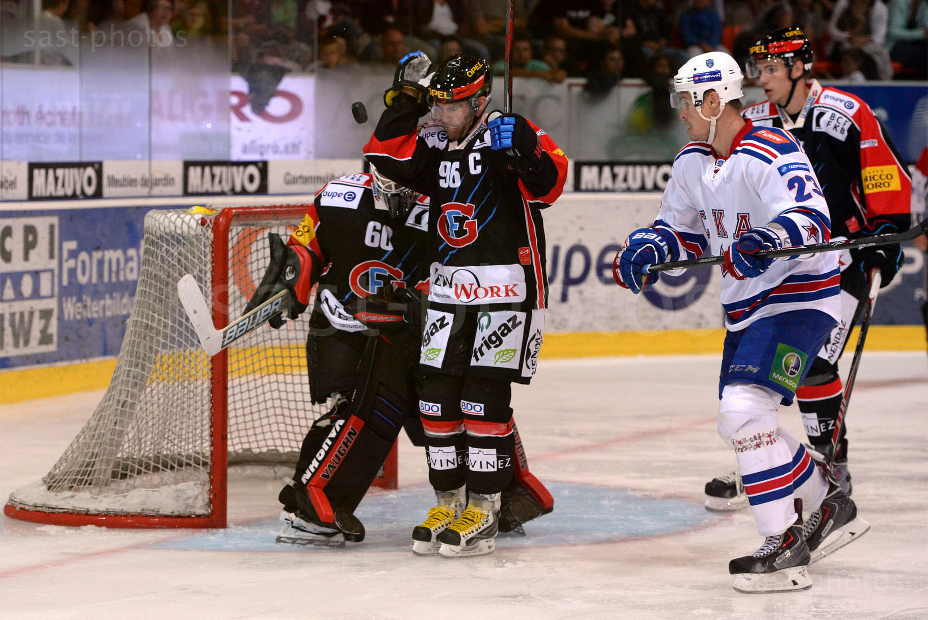 v.l.n.r. Christian Dube (Fribourg) Alexei Ponikarovsky (St. Petersburg) Maxime Montandon (Fribourg)