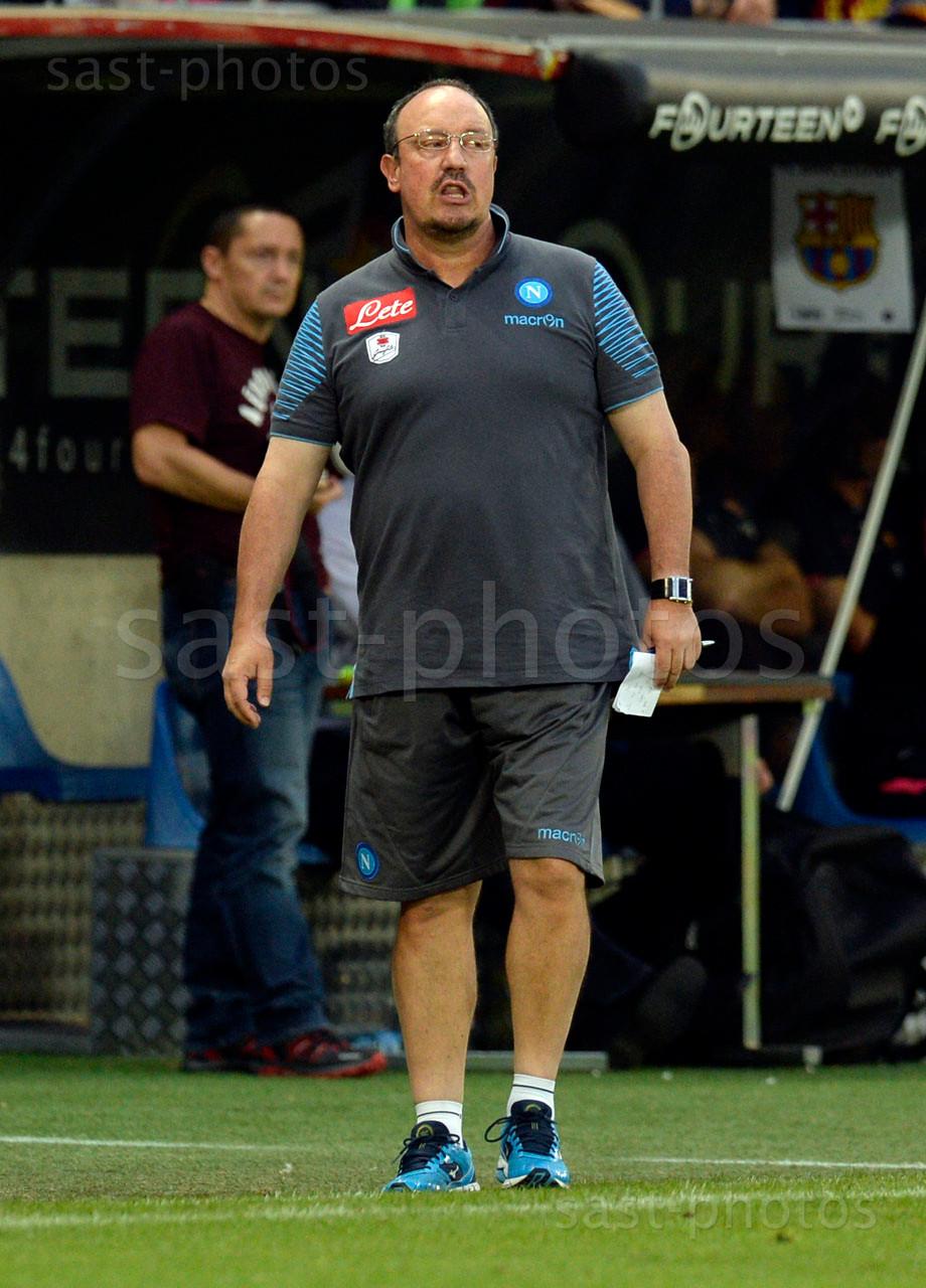 Trainer Rafael Benitez (Napoli)