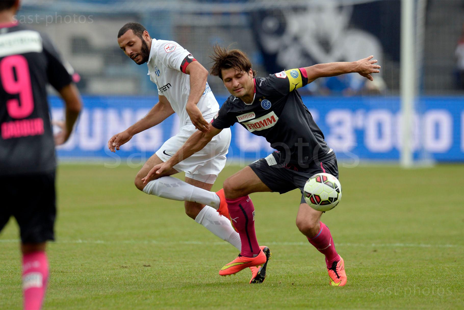 Yassine Chikhaoui (FCZ) gegen Veroljub Salatic (GCZ)