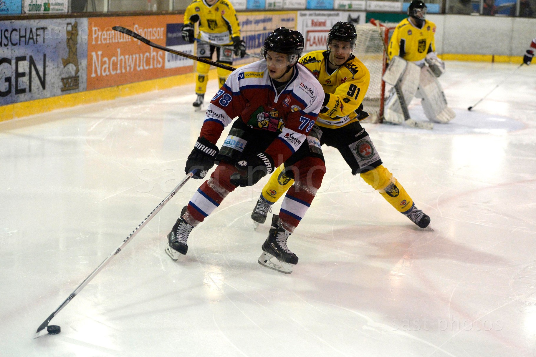 Enrico Saccomani (L. Freiburg) gegen Dominik Walleitner (Bad Toelz)