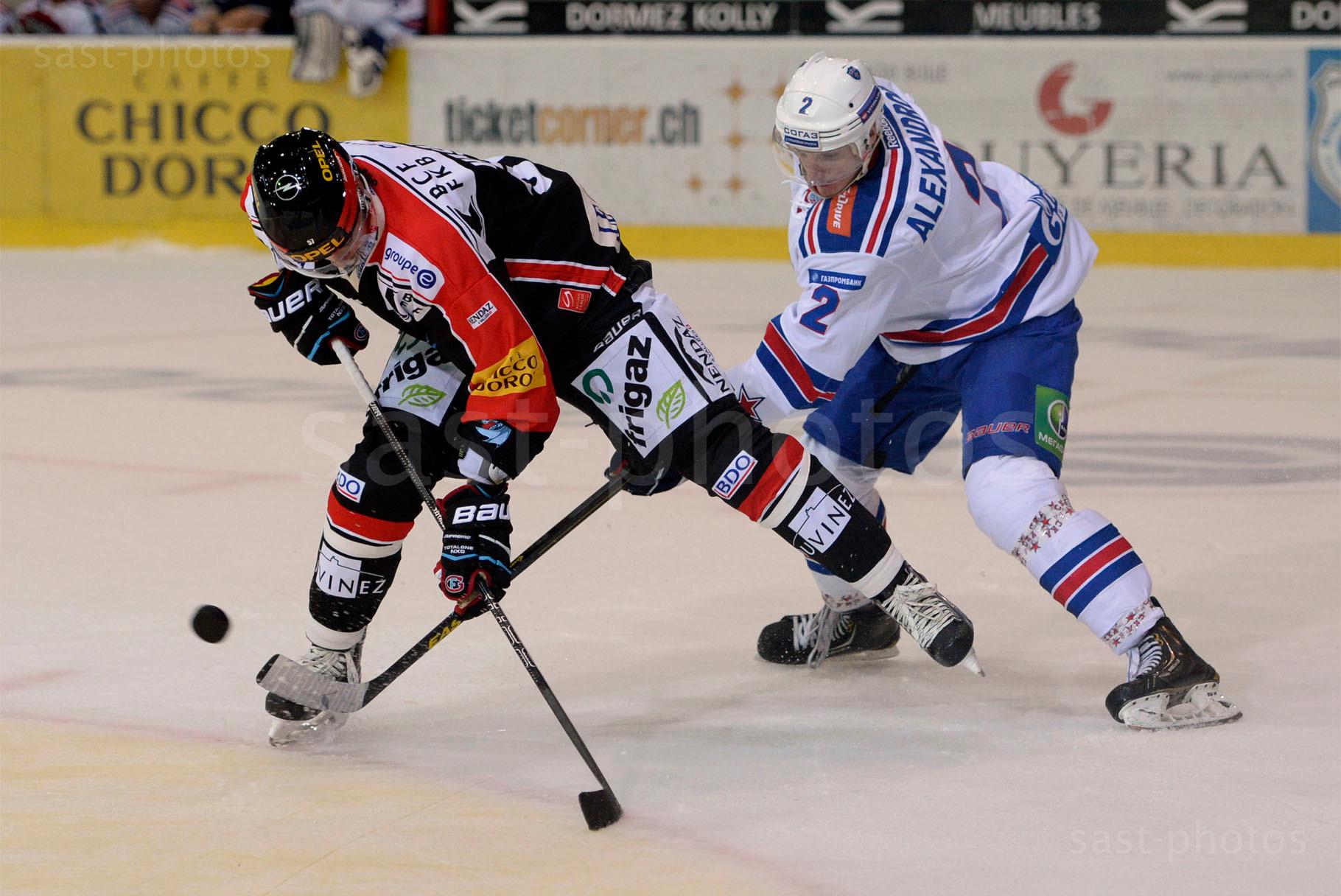 Adam Hasani (L. Fribourg) gegen Yury Alexandrov (St. Petersburg)