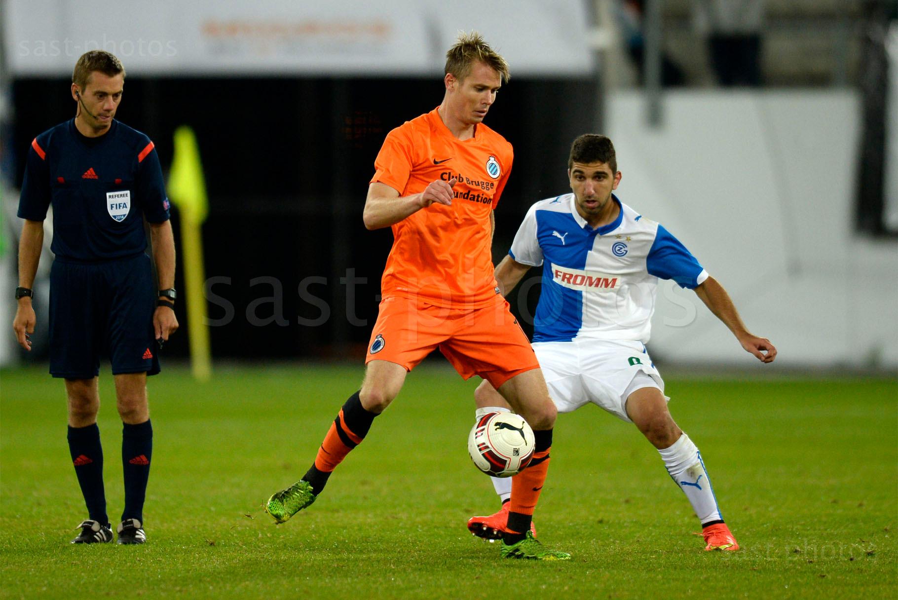 Jesper Jorgensen (L. Brugge) gegen Munas Dabbur (GCZ)