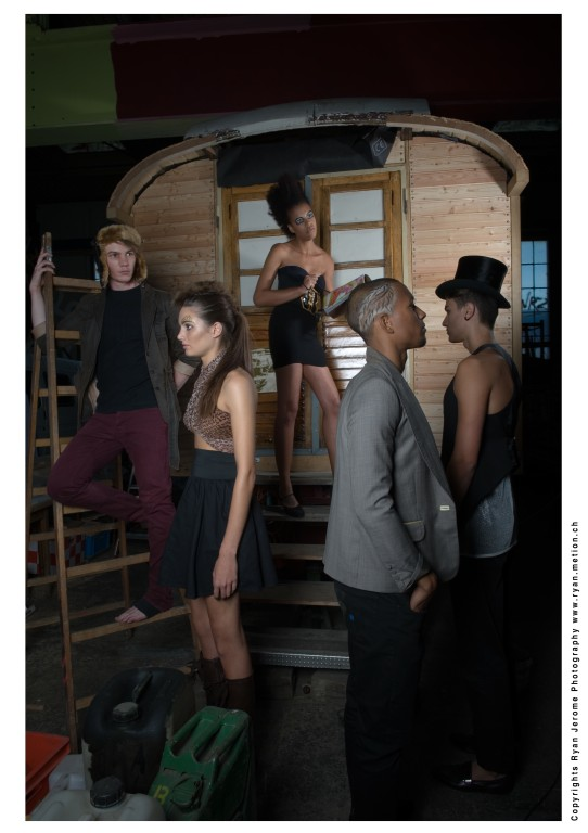 Photo: Ryan Jerome *Model: Robert, Jonas, Olaf, Samantha, Cecilia * MakeUp: SL