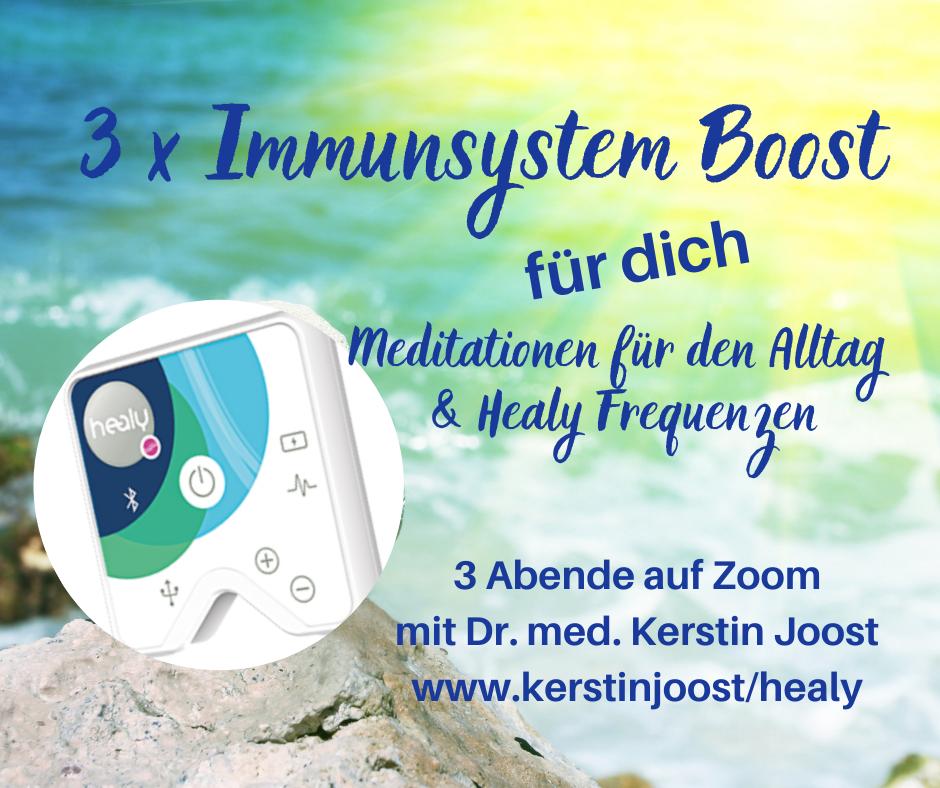 Booste dein Immunsystem - sei stark für den Herbst! Online-Kurs mit dem Healy