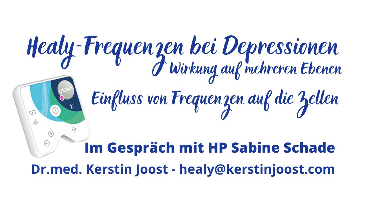 Frequenzen des Healy bei Depressionen