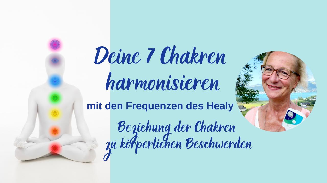 Chakren-Aktivierung für deine Gesundheit