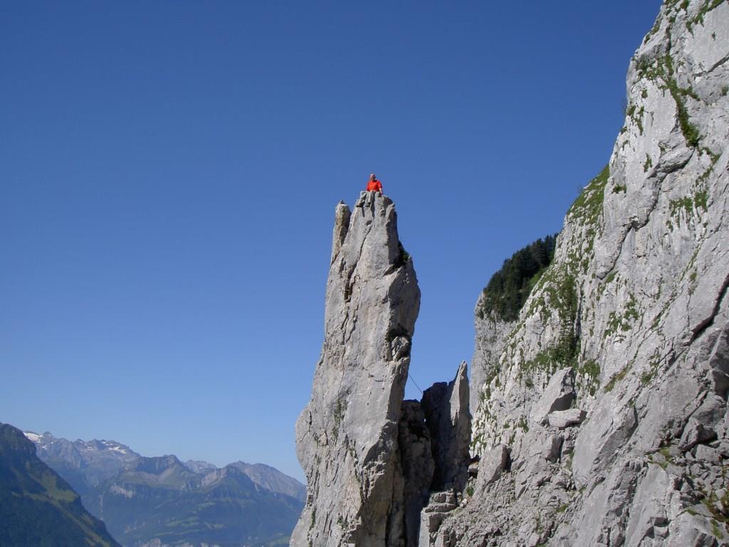 Klettersteig Fruttstägä : Klettersteig beschreibung jakobiger Überschreitung