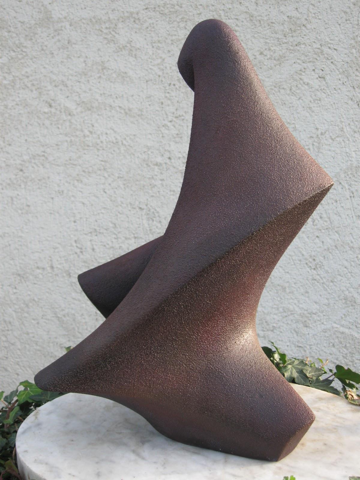 Madone - Terre cuite pâtinée