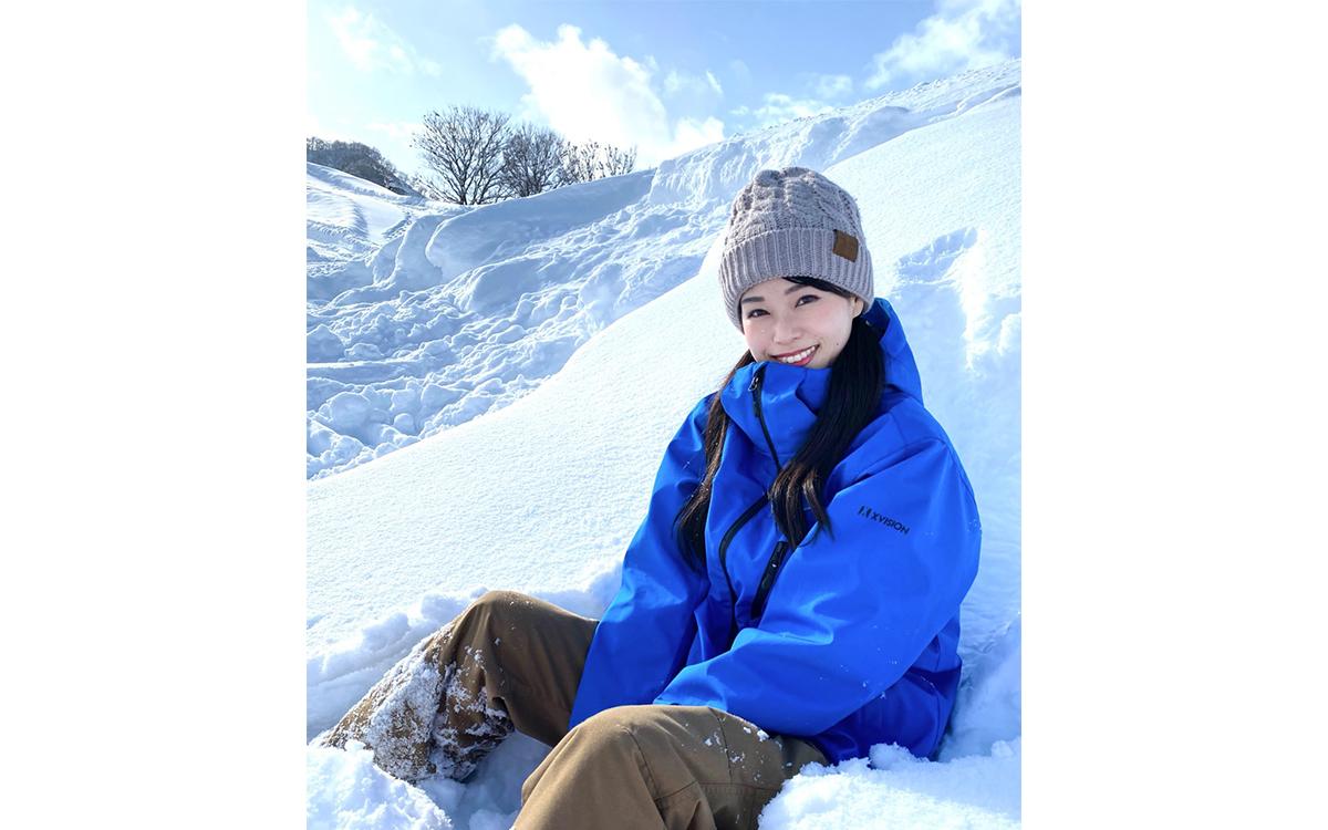 SNOW GARDEN 石打丸山スキー場の撮影★佳奈
