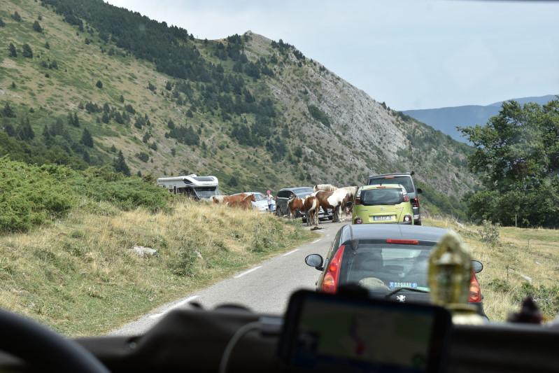 Stau in den Pyrenäen
