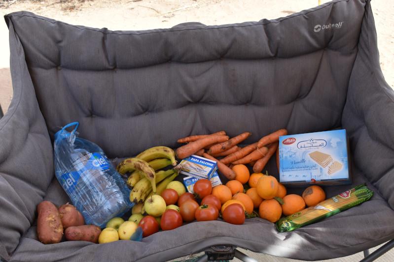 Lebensmittelgeschenk von Marokko