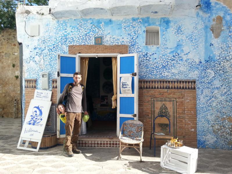 Tolle Künstlerwerke in Asilah