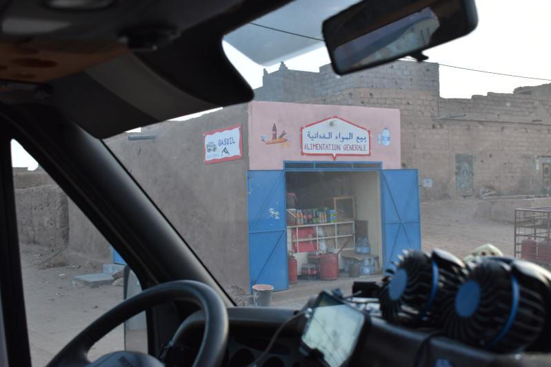 Letzter Lebensmittelladen vor der Wüste