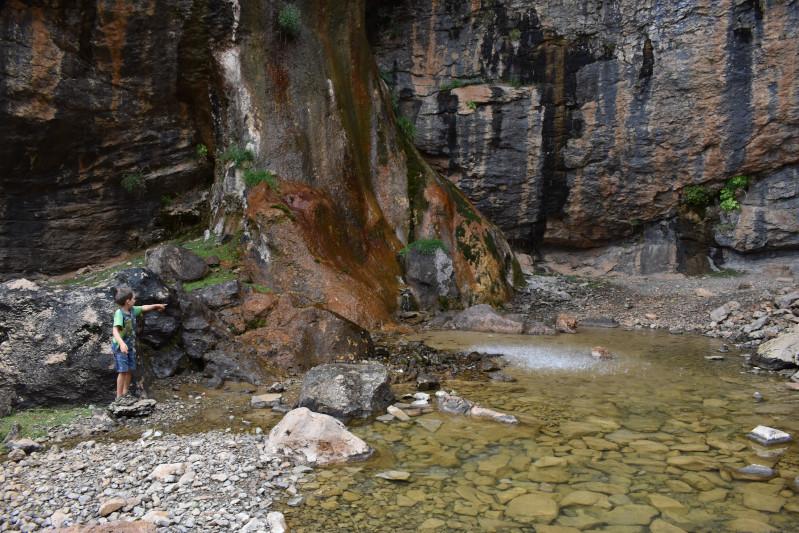 Rückweg - am Wasserfall