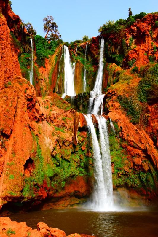 Ouzoud - höchster Wasserfall Marokkos