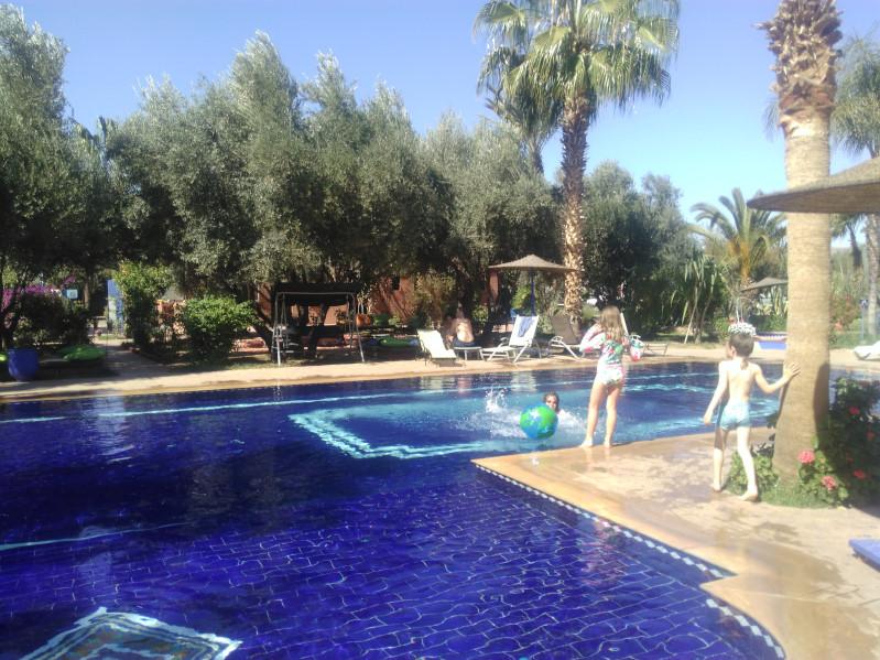 Cooler Pool in Marrakesch, aber echt cool