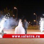 Фейерверк на свадьбу