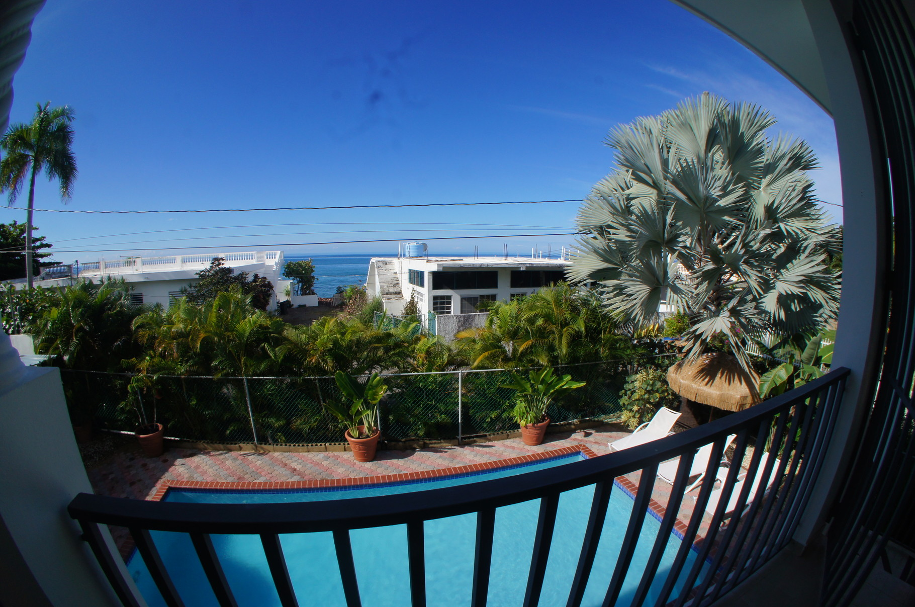 Upstairs Balcony Ocean View