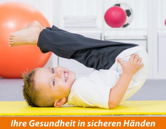 Kinder-Physiotherapie