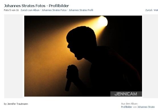 Johannes Strate/Revolverheld, Facebook