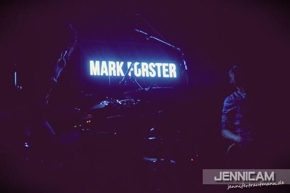 Mark Forster. Stuttgart. DasCANN. 20.11.2012