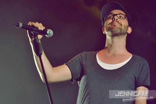 Mark Forster. Zwickau, 18.8.2012