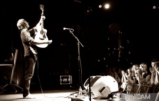 Nick Howard: Foto für Cover Demo-CD 2011