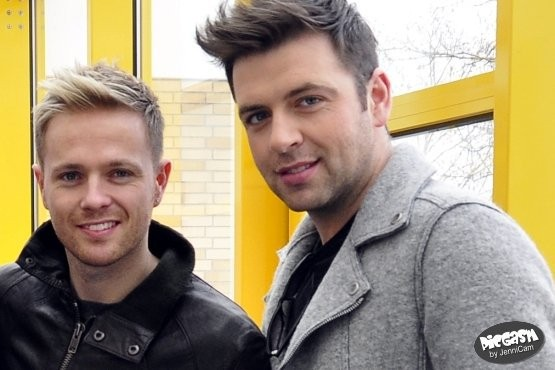 Nicky. Mark. Westlife. 2010