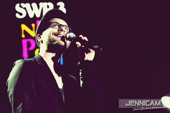 Mark Forster. SWR3 New Pop Festival, 15.9.2012