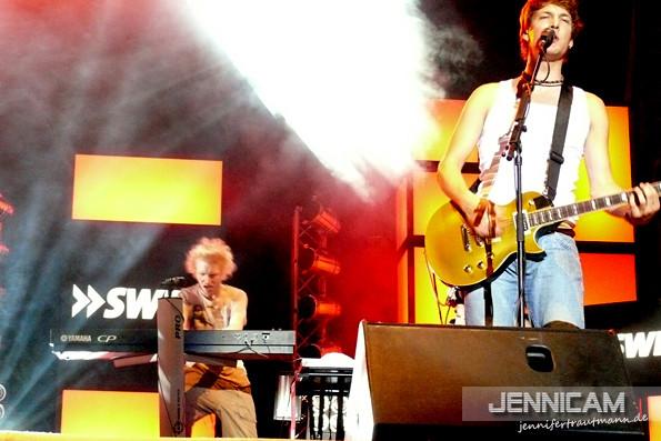 Erster Auftritt mit Riku - Pop im Hafen, Mannheim, 25.8.2007