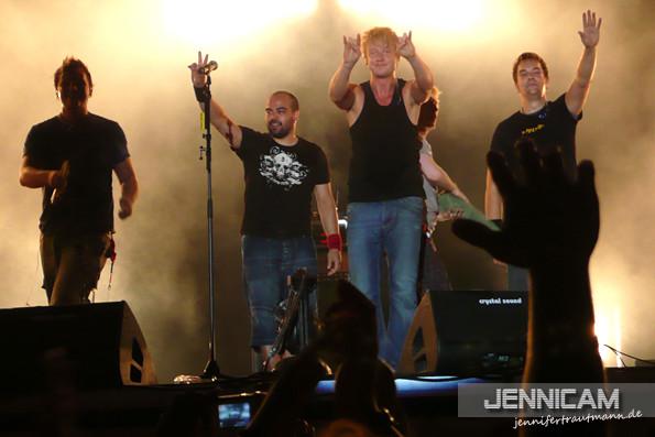 Letzter Auftritt mit Janne - Das Fest, Karlsruhe, 20.7.2007