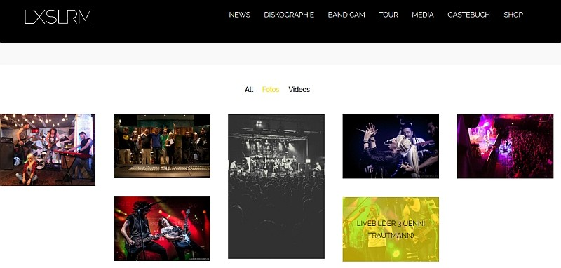 Luxuslärm. Fotogalerie mit 18 Bildern auf der neuen Website www.luxuslaerm.de -> http://www.luxuslaerm.de/#section-15 - 2/2014